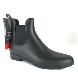 Cougar Celeste Rain Boots Black Chelsea Booties